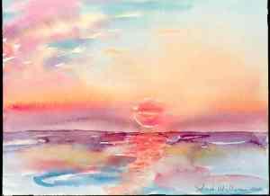 broad beach sunset