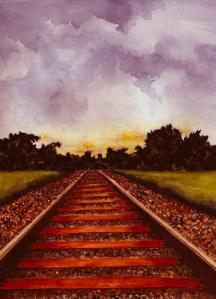railroad-tracks--color-michael-vigliotti