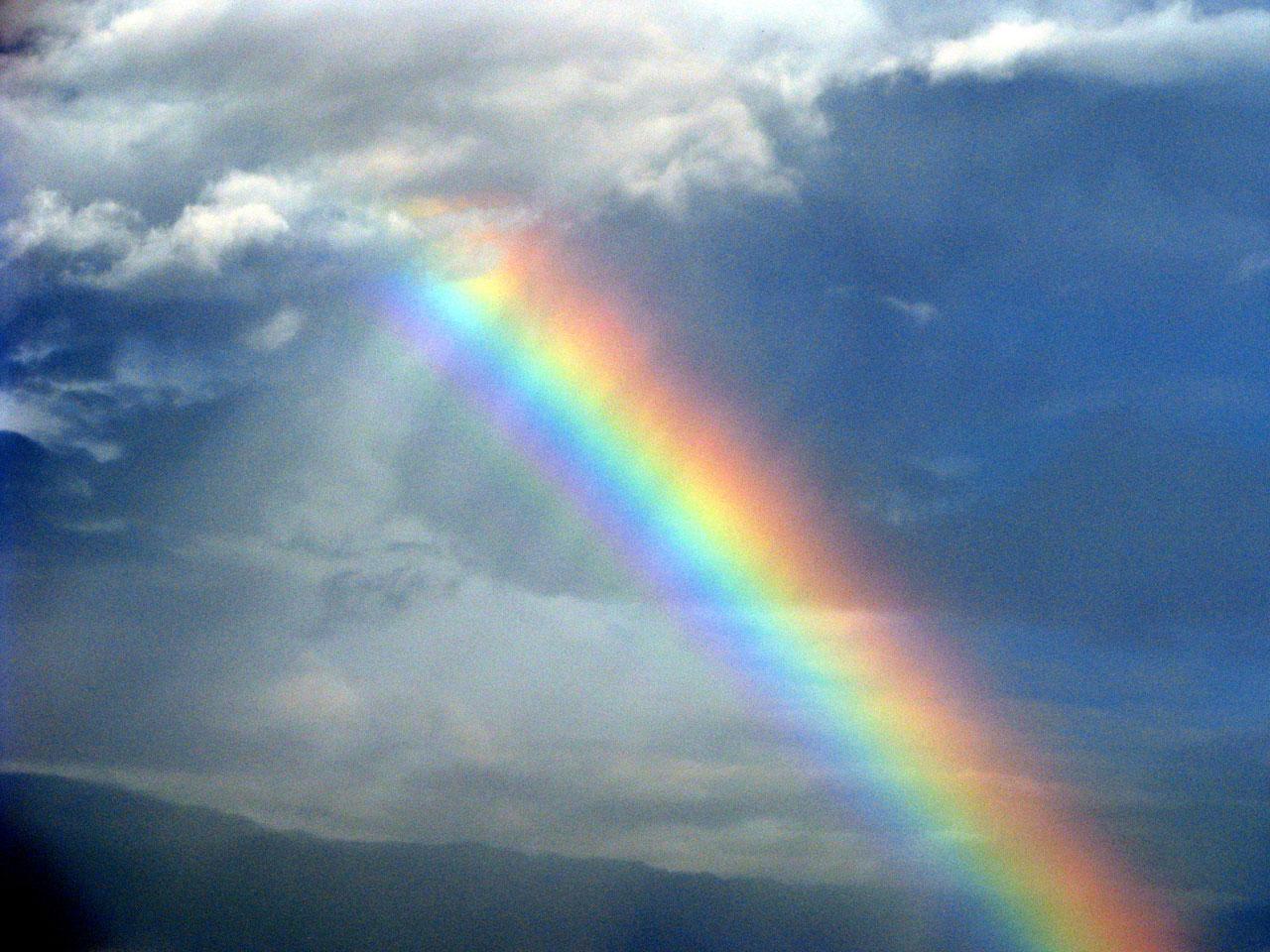 Rainbows From Heaven Angelnursethoughts Wordpress Com