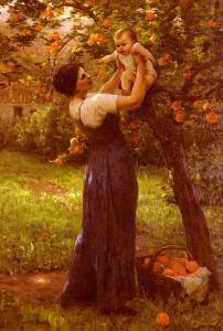 Mother-and-Child-in-the-Garden