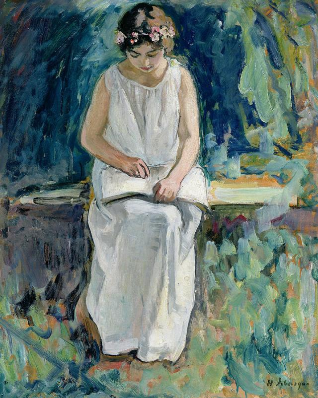 girl-reading-henri-lebasque